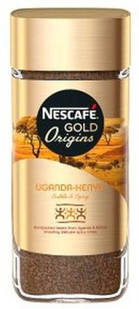 Nescafe Gold Origins Uganda Kenya Coffee Instant Coffee