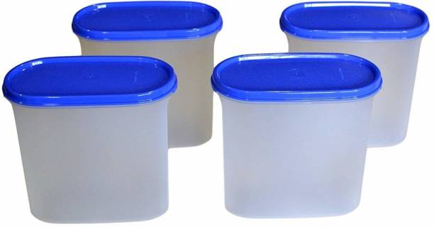TUPPERWERE Dry Storage Containers MM Oval #2  - 1.1 L Polypropylene Grocery Container