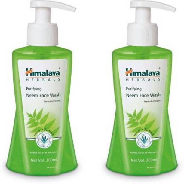 HIMALAYA Purifying Neem  (200ml x 2) - 400ml Face Wash