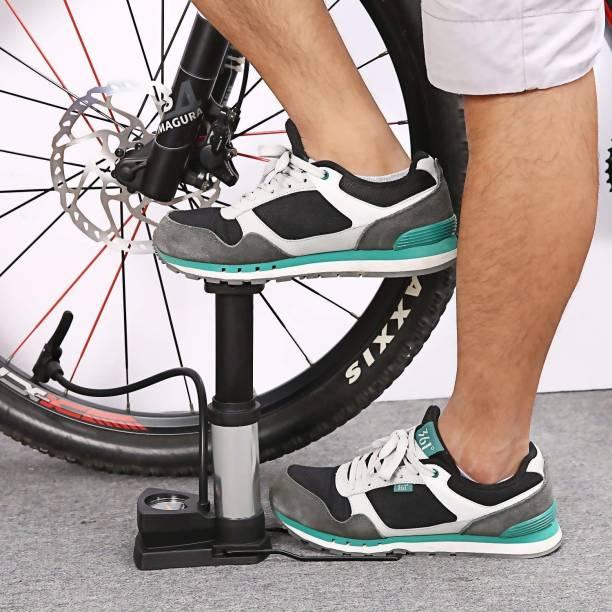 VVG TRADERS Mini Bike Pump Ultra-light Bicycle Foot Pumps with Pressure Gauge Ball, Balloon Bicycle, Football Pump, Handball Pump, Motorcycle, Volleyball Pump Pump