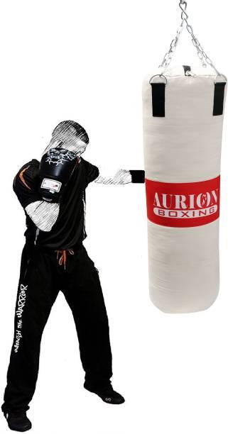 Aurion 2 feet long Unfilled heavy canvas punching bag Hanging Bag Hanging Bag Hanging Bag
