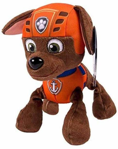 A Little Swag Imported Paw Patrol Cartoon Character Action Figure Soft Stuffed Toy for Girl Boys Kids.(25 cm).  - 25 cm