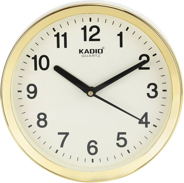 Kadio Analog 20 cm X 20 cm Wall Clock