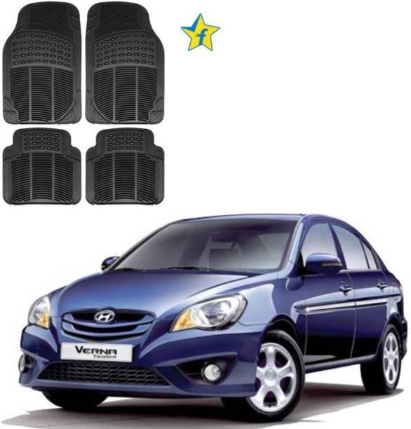 Flipkart SmartBuy Rubber Standard Mat For  Hyundai Verna Transform