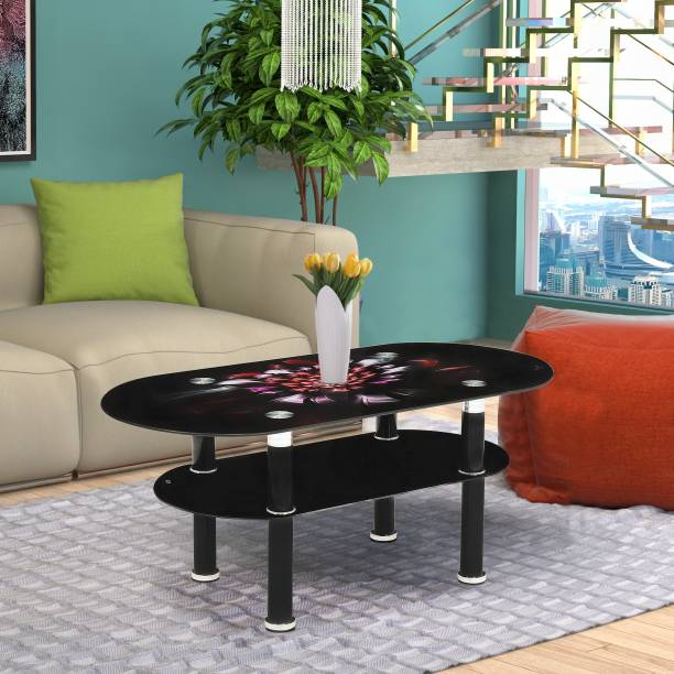 WOODNESS Glass Coffee Table