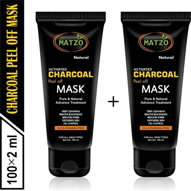 Matzo Natural Activated Charcoal Mask