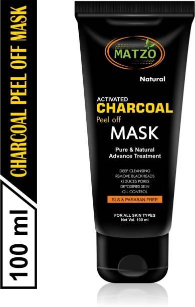 Matzo Natural Activated Charcoal Peel Off Mask