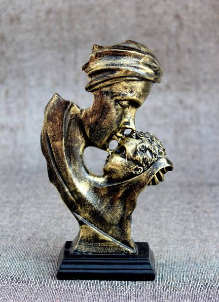 Craft Junction Handcrafted Mother Love For His Son Decorative Showpiece Decorative Showpiece  -  28 cm