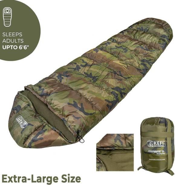 Kefi Outdoors Camo Extra large Army Sleeping Bag Sleeping Bag