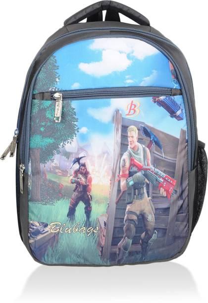 blubags Branded Digital Printed Backpack for All Genders School l Collage l Travel Waterproof School Bag