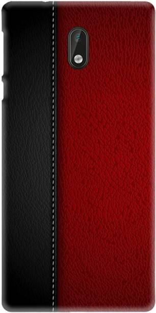LEEMARA Back Cover for Nokia 3 (TA - 1032,1020,1028,1038) - Leather, Printed Back Cover