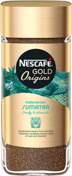 Nescafe Gold Origins Indonesian Sumatra Coffee Instant Coffee