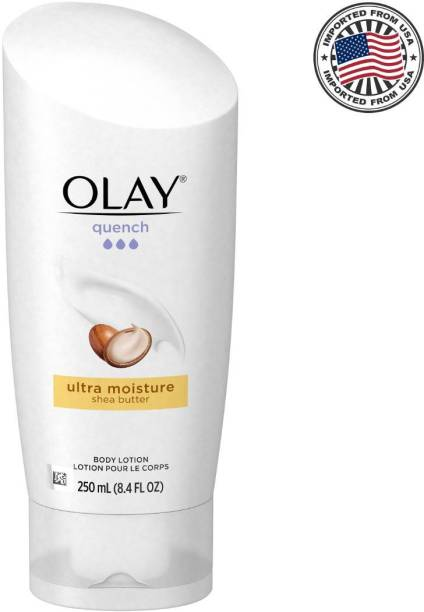 OLAY Quench Ultra Moisture Shea Butter Body Lotion, 250ML