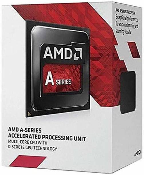 amd A6-7480 with Radeon R5 Graphics 3.5 GHz Upto 3.8 GHz FM2+ Socket 2 Cores 2 Threads 1 MB L2 0 MB L3 Desktop Processor