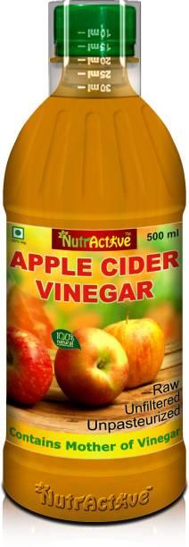 NutrActive ORGANIC RAW UNFILTERED APPLE CIDER VINEGAR Vinegar