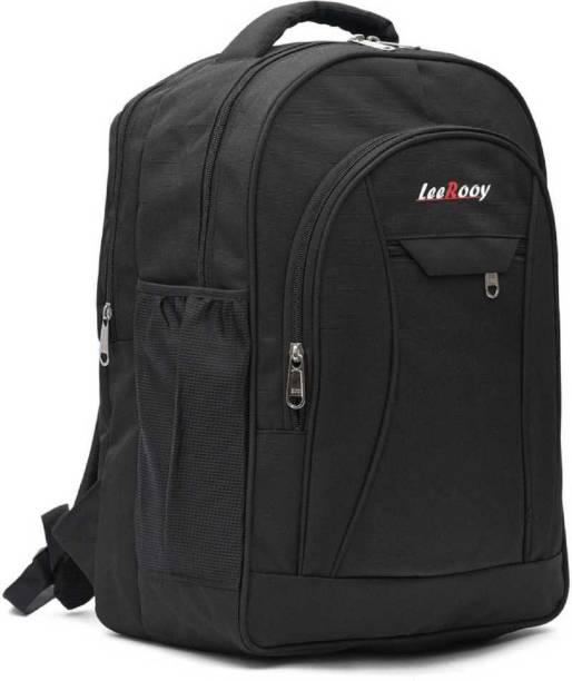 LeeRooy 0BG3BLK Waterproof School Bag