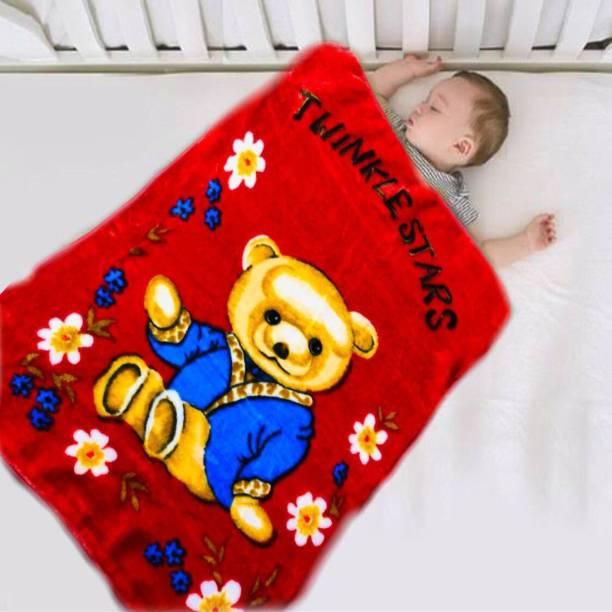 JARS Cartoon Crib Crib Baby Blanket
