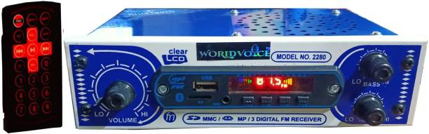world voice IPL BLUETOOTH WITH SPEAKER Car Stereo MP3/AUX/USB/SD-MMC/BT CAR MEDIA PLAYER (Single Din) Car Stereo