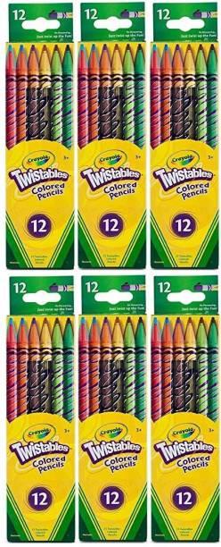 CRAYOLA Twistables Round Shaped Color Pencils