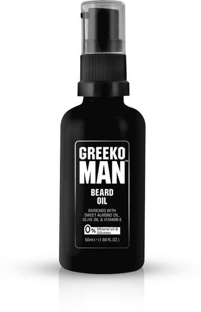GREEKO MAN Beard Oil Hair Oil