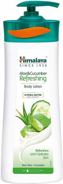 Himalaya Herbals ALOE AND CUCUMBER BODY LOTION_400M