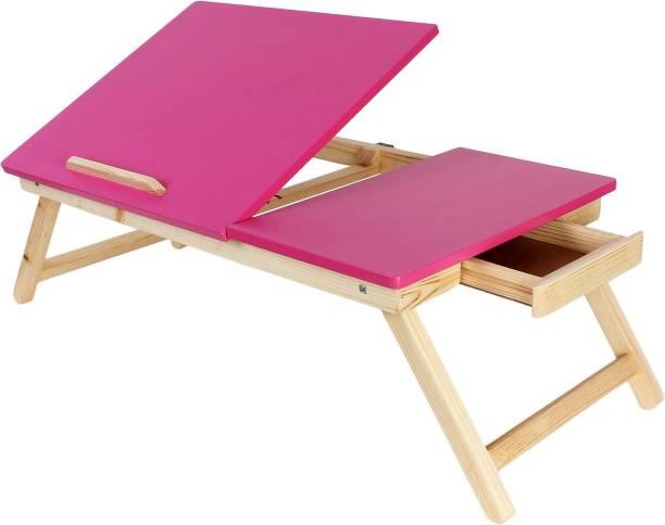 Homeeva Smart Tiltable Top Wood Portable Laptop Table