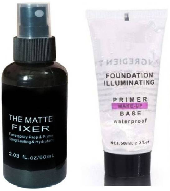 nnbb THE MAKEUP FIXER AND PRIMER TUBE (TRANSPARENT) 150 ML Primer  - 150 ml