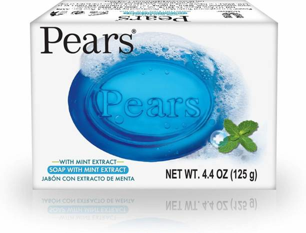 Pears Soap with Mint Extract