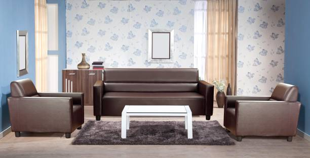 KURLON Photon Leatherette 3 + 1 + 1 Sofa Set