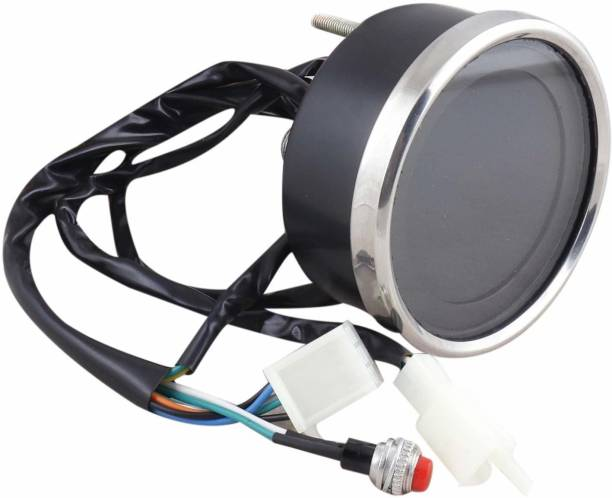 Mini Gaffar SpeedoMeter with Meter unit, mounting clamp, speedometer cable Digital Speedometer