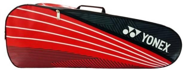 YONEX S25 Extra Spacious 2 in 1 Badminton Kitbag, Red/White