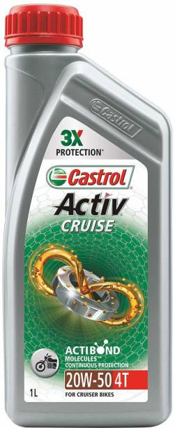 Castrol Activ Activ CRUISE Synthetic Blend Engine Oil