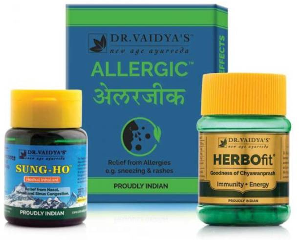 Dr. Vaidya's Ayurvedic Allergy & Cold Pack for cold, allergy, sneezing