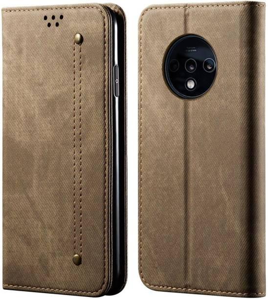 Pirum Flip Cover for OnePlus 7T / One Plus 7T / 1+7T