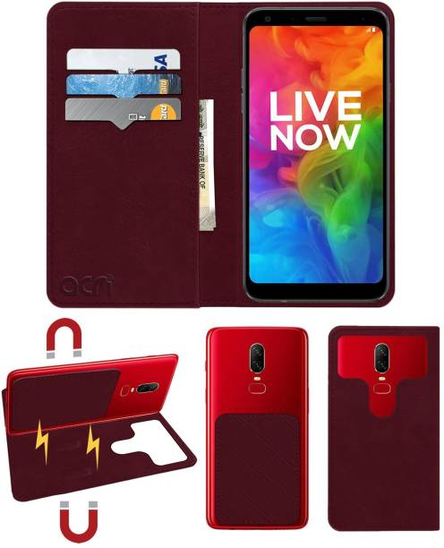 ACM Flip Cover for Lg Q7 Plus