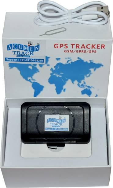 Acumen Track Y-200(Wireless Tracker With 4400 Mah Powerful Battery Backup) Personal Pet and Child Tracker GPS Device