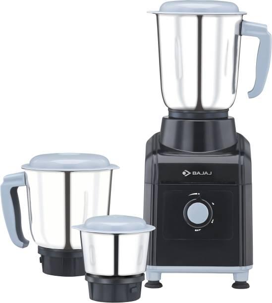BAJAJ 3501 GX 500 W Mixer Grinder (3 Jars, Black, Grey)