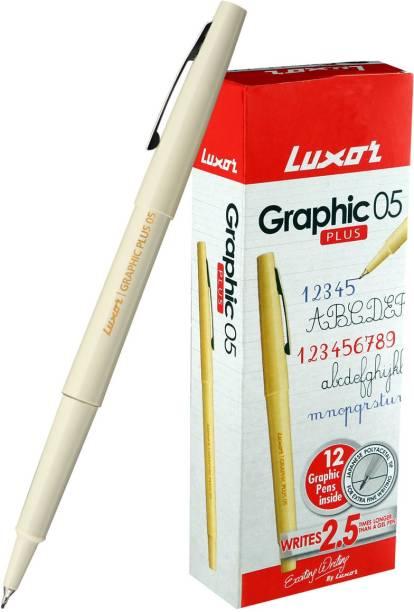 LUXOR Graphic Micro Fineliner Pen