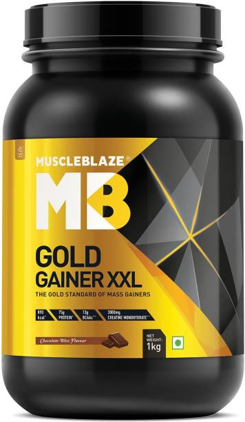 MUSCLEBLAZE Gold Gainer XXL Weight Gainers/Mass Gainers