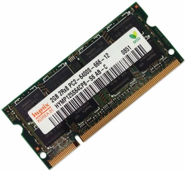 Hynix 800MHZ DDR2 2 GB (Single Channel) Laptop (DDR2 SDRAM)