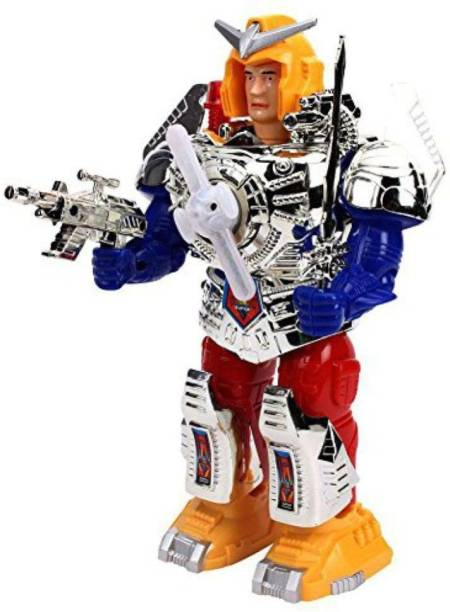 KGINT Multicolor Plastic Robot (Multicolor)