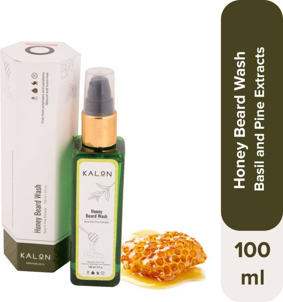 Kalon Honey Beard Wash   Natural & Australia Certified Toxin-Free   Free from Sulphate and Parabens