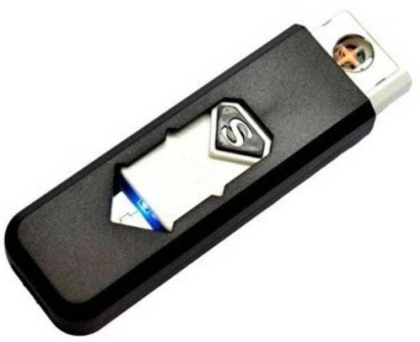 ZEVORA DC Connector USB Electronic Portable Rechargeable Flameless Pocket Size Gadget Car Cigarette Lighter