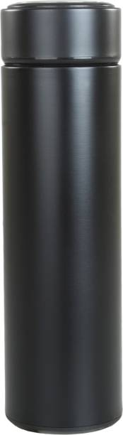SHINE STAR black Double wall vaccum insulated stainless steel flask 800 ml Flask