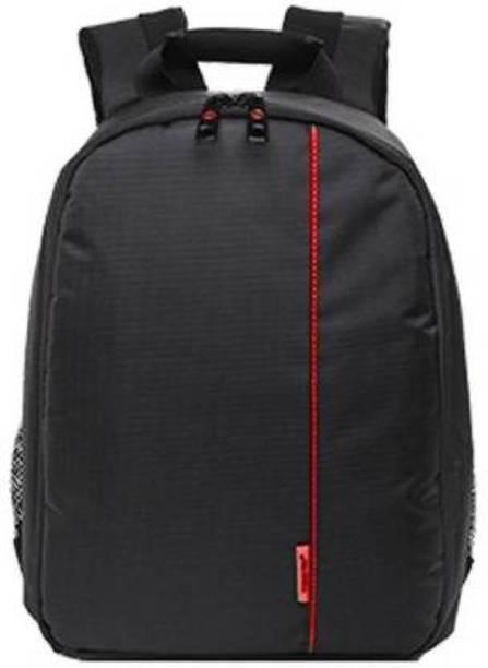 USPECH DSLR SLR Camera Lens Shoulder Backpack Case for Canon Nikon Sigma Olympus Camera Bag (RED)  Camera Bag