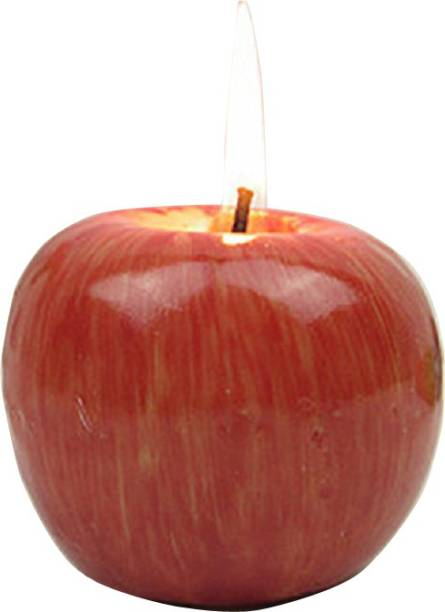 Nema Red Apple Shape Fruit Scented Candle - Small Candle