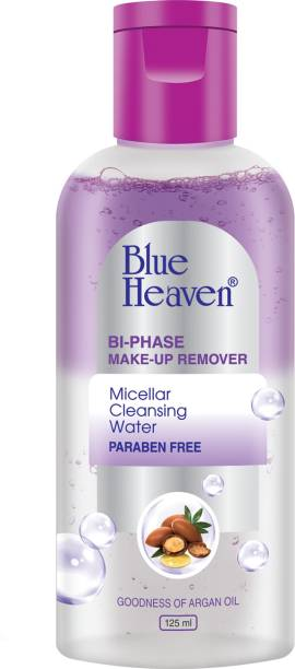BLUE HEAVEN Bi-Phase Makeup Remover + Micellar Cleansing Water Makeup Remover