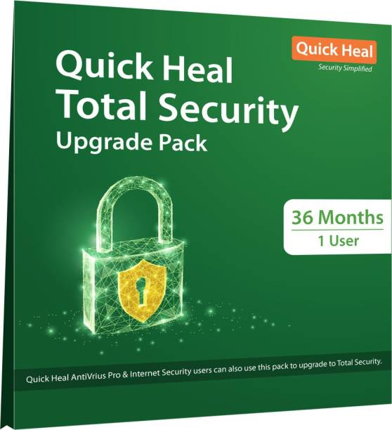 QUICK HEAL Total Security 1 User 3 Years (Renewal)