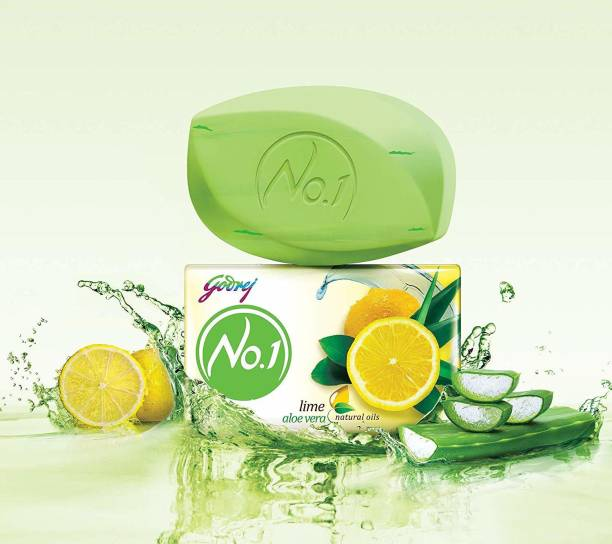 Godrej No. 1 Lime & Aloe Vera Soap - 150g PO9