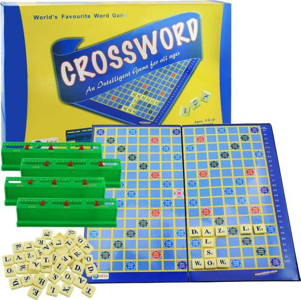 Ekta Crossword Board Game Word Games Board Game